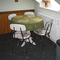 Fully Equipped Kitchenette with a Dinette