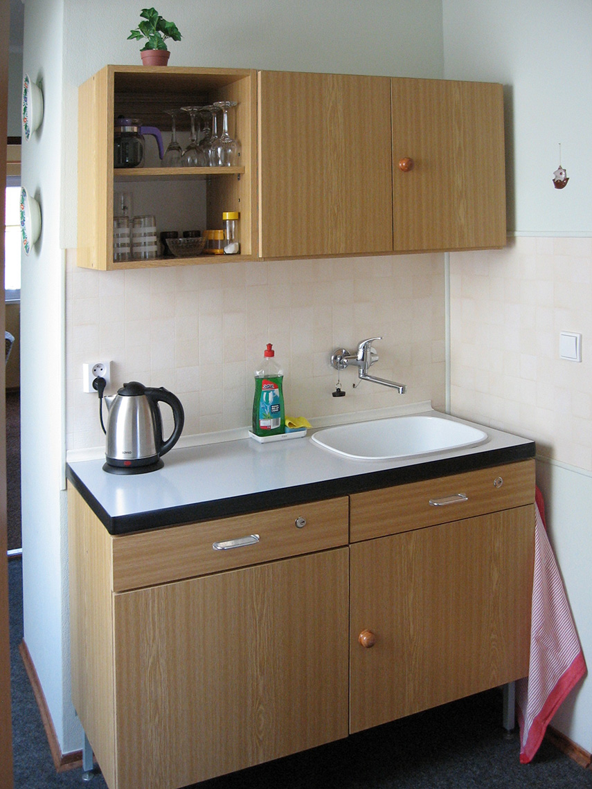 Kitchenette with a Sink